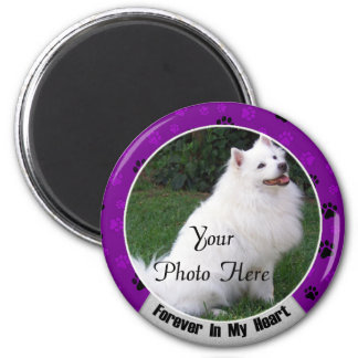 Forever In My Heart Dog or Cat Memorial Magnet