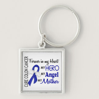 Forever In My Heart Mother Colon Cancer Keychain
