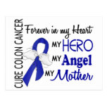 Forever In My Heart Mother Colon Cancer Post Card