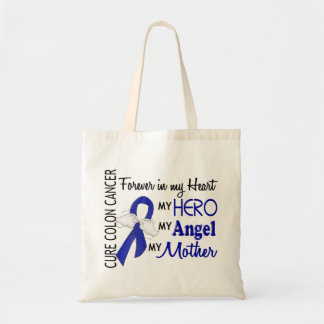 Forever In My Heart Mother Colon Cancer Tote Bag