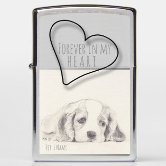 Forever in My heart Pet Keepsake Lighter