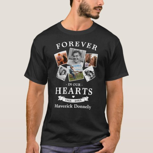 Forever in our Hearts Memorial T_Shirt
