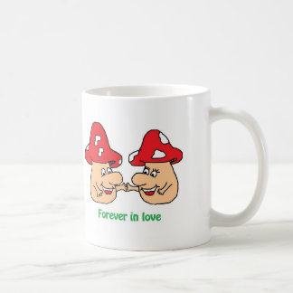 Forever into love coffee mug