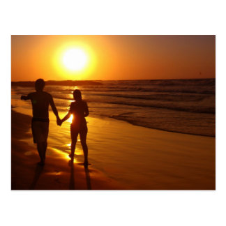 Forever, into the Sunset Postcard
