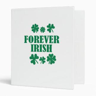 Forever Irish 3 Ring Binder