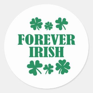 Forever Irish Classic Round Sticker