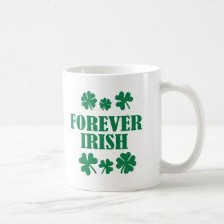Forever Irish Classic White Coffee Mug