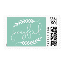 Forever Joyful Simple Postage Stamp