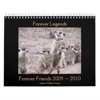Forever Legends - Calendar
