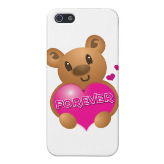 forever love cute bear case for iPhone SE/5/5s