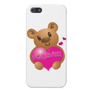 forever love cute bear iPhone SE/5/5s cover