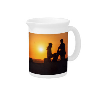 Forever Love Joy Friendship Forever Young Beverage Pitcher