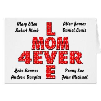 Forever Love Mom Card