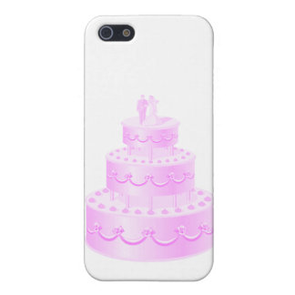 Forever Love Pink Wedding Cake Cover For iPhone SE/5/5s