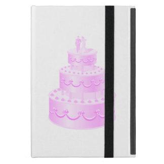 Forever Love Pink Wedding Cake iPad Mini Case