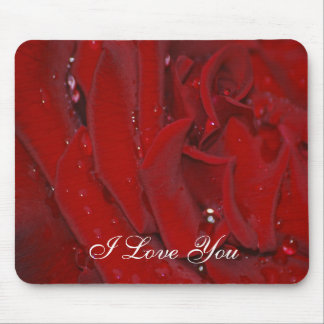 Forever Love Rose Mouse Pad