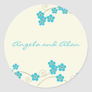 Forever Loved Envelope Seal Classic Round Sticker