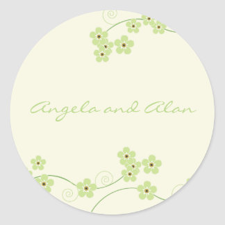 Forever Loved Envelope Seal-spring Classic Round Sticker