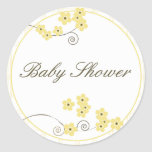 Forever Loved Envelope Seal-yellow Round Sticker