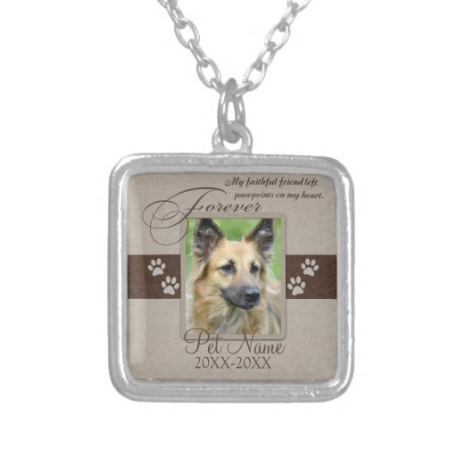 Forever Loved Pet Sympathy Custom Jewelry