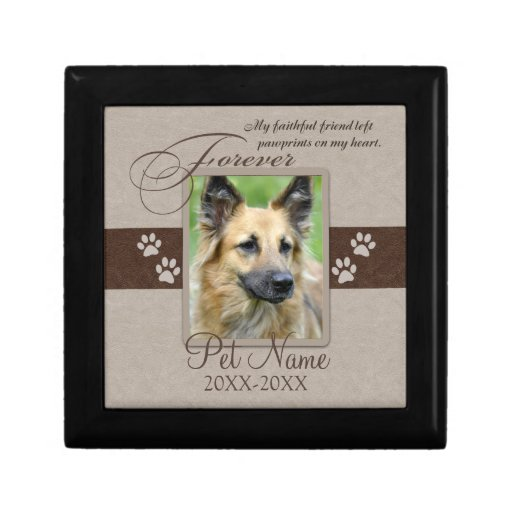 Forever Loved Pet Sympathy Gift Box
