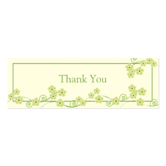 Forever Loved Wedding Favor Gift Tag Double-Sided Mini Business Cards (Pack Of 20)