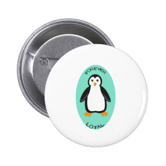 Forever Loyal Penguin Couple Pin
