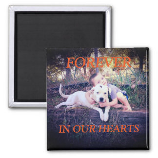 Forever Memorial Magnet (Pet Addition)