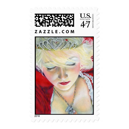 Forever Mine Princess Heart Locket Postage