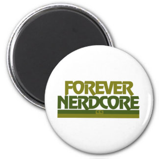 Forever Nerdcore Refrigerator Magnets