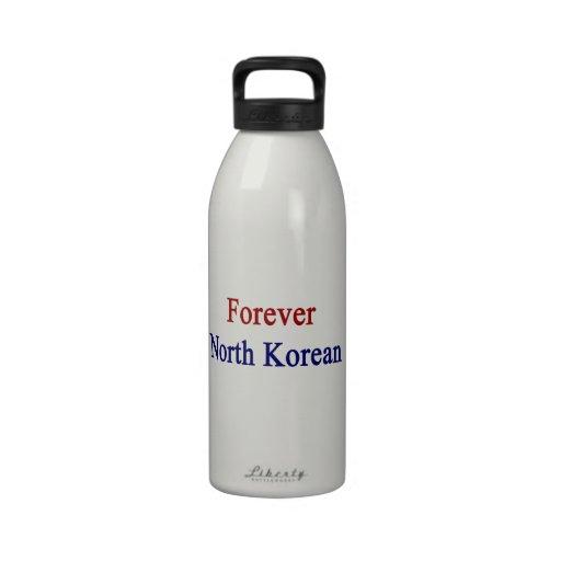 Forever North Korean Reusable Water Bottles