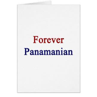 Forever Panamanian Card