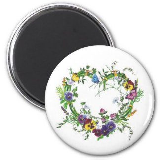 Forever Pansies Magnet