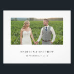 "Forever | Personalized Wedding Print<br><div class=""desc"">All photography is displayed as a sample only and is not for resale. This product is only intended to be purchased once sample photos are replaced with your own images.</div>"