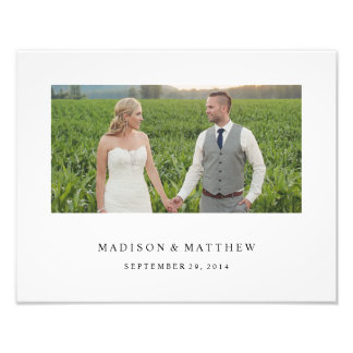 Forever | Personalized Wedding Print