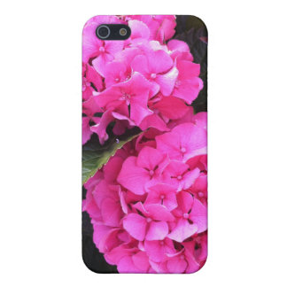 Forever Pink Hydrangea iPhone 4 Case