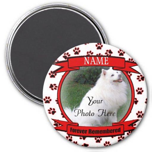 Forever Remembered Dog or Cat Keepsake Memorial Fridge Magnet