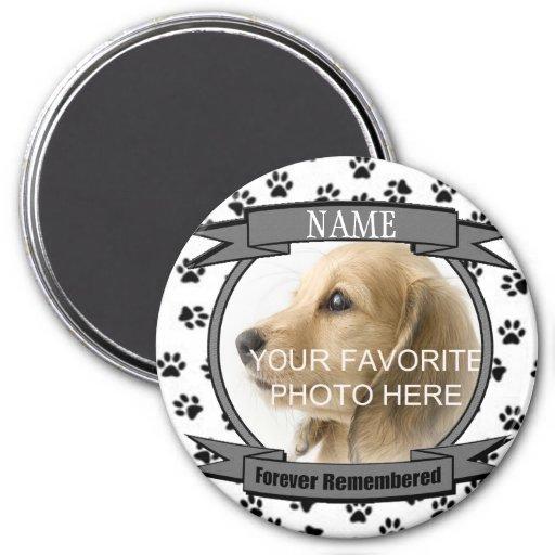Forever Remembered Dog or Cat Keepsake Memorial Refrigerator Magnet