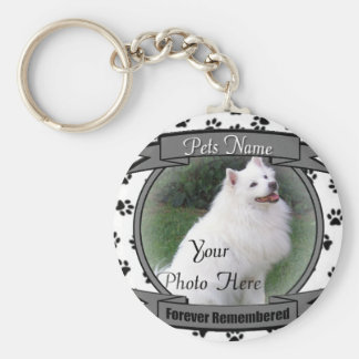 Forever Remembered Pet Memorial Key Chains