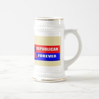 FOREVER REPUBLICAN BEER STEIN