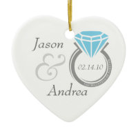 Forever Ring Personalized Ornament ornament