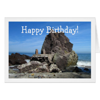 Forever Rock; Happy Birthday Stationery Note Card