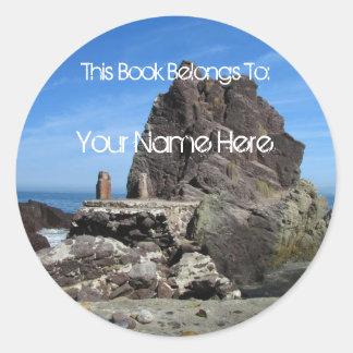 Forever Rock; Mailing Necessities Round Sticker