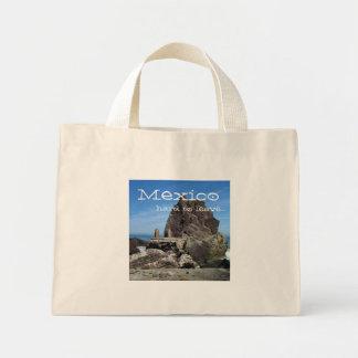 Forever Rock; Mexico Souvenir Mini Tote Bag