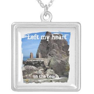 Forever Rock; Mexico Souvenir Square Pendant Necklace