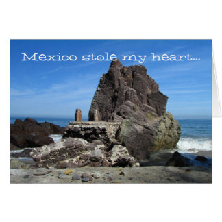 Forever Rock; Mexico Souvenir Stationery Note Card