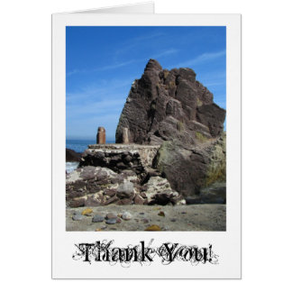 Forever Rock; Thank You Stationery Note Card