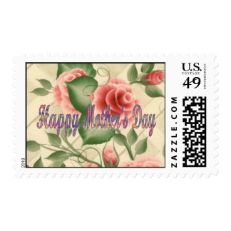 Forever Roses  Happy Mothers Day Postage