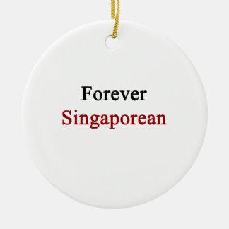 Forever Singaporean Christmas Tree Ornaments