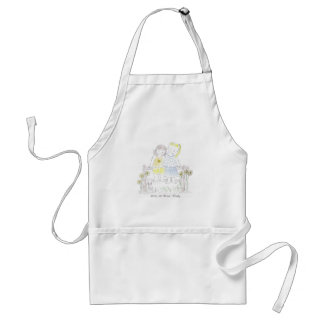 Forever_sisters Adult Apron